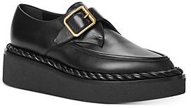 Valentino Women's Single-Monk-Strap Platform Dress Shoes
