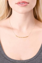 Gorjana Taner Bar Small Necklace in Gold