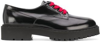 Hogan Contrast Laces Oxford Shoes
