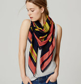 LOFT Striped Scarf