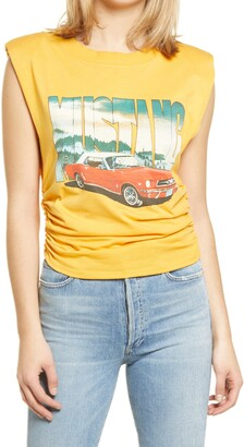 AFRM Bello Vintage Mustang Graphic Tank Top