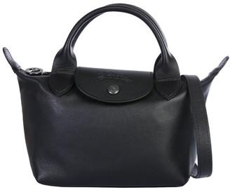Longchamp Longhcamp Le Pliage Cuir Mini Top Handle Bag