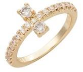 Melinda Maria Women's Margaret Cluster Ring