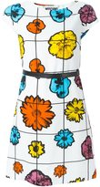 Moschino floral belted dress