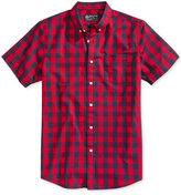American Rag Men's Banarama Check Print Shirt, Only at Macy's