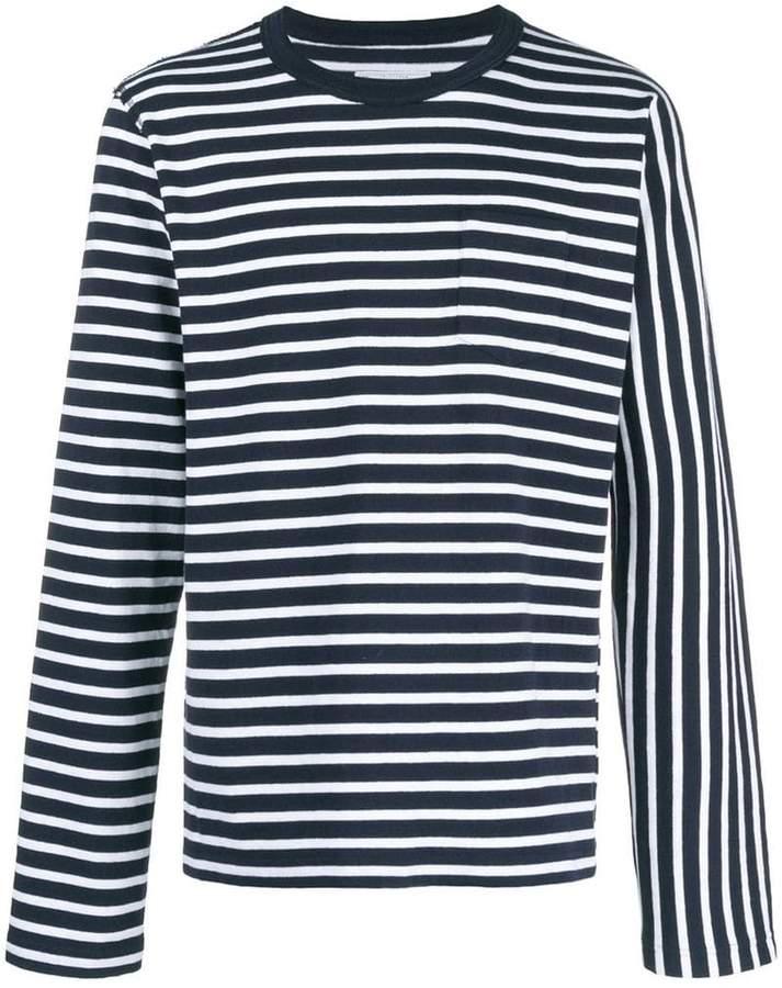 Sacai striped T-shirt