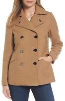 MICHAEL Michael Kors Women's Double Breasted Wool Blend Coat