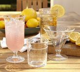 Pottery Barn Rope Outdoor Drinkware, Set of 4 - Clear