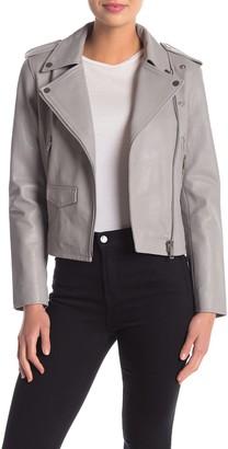 Walter Baker Liz Leather Moto Jacket