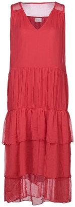 Vila 3/4 length dresses