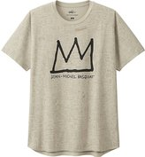 Uniqlo Men Sprz Ny Basquiat Short Sleeve Graphic T-Shirt