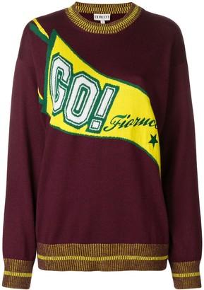 Fiorucci logo print jumper