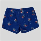 Beauty & The Beast Girls' Beauty and the Beast Woven Shorts Navy