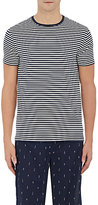 "Derek Rose Men's ""Alfie 6"" Striped Jersey T-Shirt"