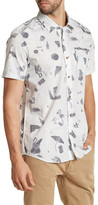 Volcom D Club Printed Modern Fit Short Sleeve Shirt