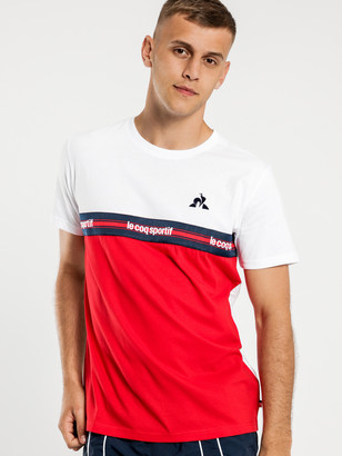 Le Coq Sportif Hugo T-Shirt in White
