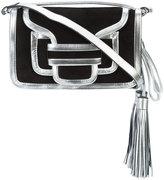 Pierre Hardy Alpha mini crossbody bag - women - Lamb Skin/Suede - One Size