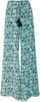 Figue Estela Floral Silk Pant