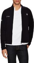 Z Zegna Men's Maserati Wool Zip Front Sweater