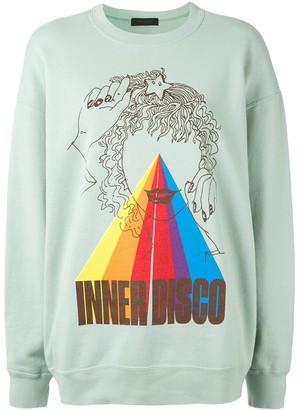 Undercover Inner Disco print jumper