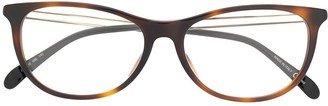 Givenchy Eyewear Oval Frame Glasses
