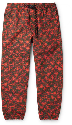 Nike Acg Nrg Tapered Printed Shell Cargo Pants - Red