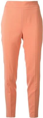Fabiana Filippi Cropped Side Zipped Trousers