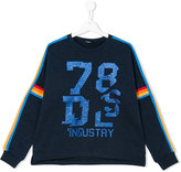 Diesel Seddi long sleeve sweater - kids - Cotton/Nylon/Metallic Fibre - 14 yrs