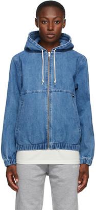 Stussy Blue Denim Work Jacket