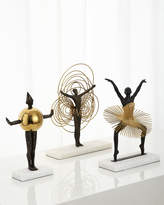 Global Views Bauhaus Sphere Woman Sculpture