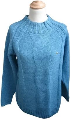 Lacoste Blue Wool Knitwear for Women Vintage