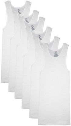 George Men's A-Shirts, 6-Pack