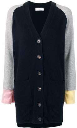 Pringle colour block cashmere cardigan