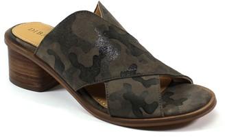 Diba True Leather Block-Heel Sandals - Block End