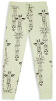 Mini Rodini Little Boy's & Boy's Animal Printed Organic Cotton Blend Pants