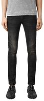 AllSaints Print Cigarette Jeans, Black