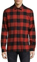 Neil Barrett Checkered Cotton Dress Shirt