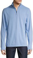 Brooks Brothers Men's Solid Half Zip Sweater