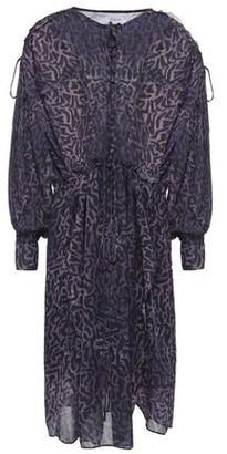 IRO Gulp Asymmetric Printed Georgette Dress