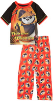 Komar Kids Kung Fu Panda Red Two-Piece Pajama Set - Boys