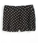 LOVE ADY Polka Dot Print Cuffed Shorts