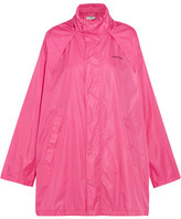 Balenciaga Hooded Shell Windbreaker Jacket - Pink