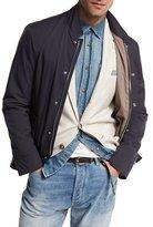 Brunello Cucinelli Nylon Sport Jacket, Navy