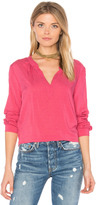 Velvet by Graham & Spencer Jena V Neck Blouse