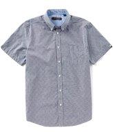 Ben Sherman Short Sleeve Dobby Micro Gingham Shirt