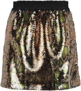 N°21 N21 Sequins Embroidered Mini Skirt