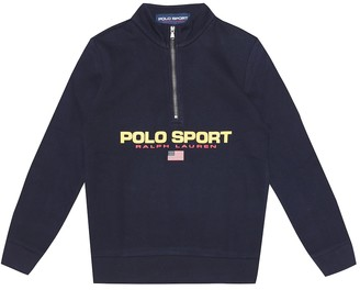 Polo Ralph Lauren Kids Logo cotton-blend sweater