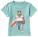 Levi's Baby Boys 12-24 Months Bear Graphic Tee