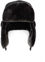 Forever 21 FOREVER 21+ Men Faux Fur Trapper Hat