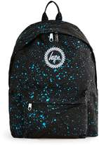 Hype Black And Blue Speckled Backpack*